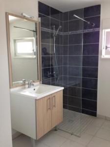 Okiban - Salle de bains : simple vasque melamine